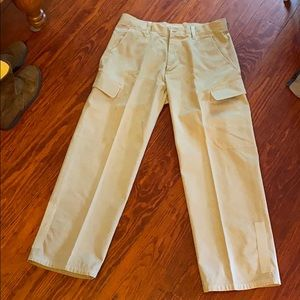 GAP Cargo pants cotton 34X30 Just dry cleaned EUC